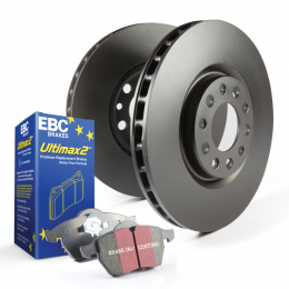 Stage 20 Kits Ultimax2 and RK Rotors Front+Rear S20K1259