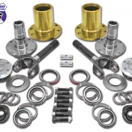 Yukon Gear Spin Free Locking Hub Conversion Kit For Dana 60 & Aam / 00-08 SRW Dodge YA WU-04