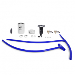 Mishimoto 03-07 Ford 6.0L Powerstroke Coolant Filtration Kit - Blue MMCFK-F2D-03BL