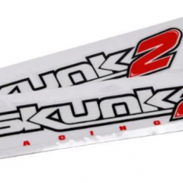 Skunk2 12in. Decal (Set of 2) 837-99-1012