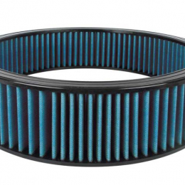 Airaid Universal Air Filter - 16in OD x 14in ID 4in H Synthamax Blue 803-404