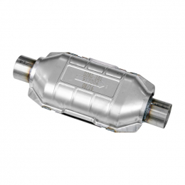 Flowmaster Universal OBDII Catalytic Converter SS - 2.5in. In/Out 16.50in Length 912006