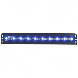 ANZO Universal 12in Slimline LED Light Bar (Blue) 861150