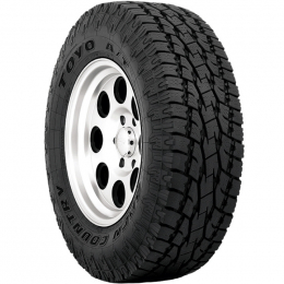 Toyo Open Country A/T II Tire - LT275/65R18 113T C/6 - White Lettering 352510