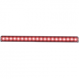 ANZO Universal 24in Slimline LED Light Bar (Red) 861156