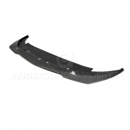 Anderson Composites 2015-2018 Ford Mustang Shelby GT350R Carbon Fiber Front Splitter (1 PC) AC-FL15MU350R