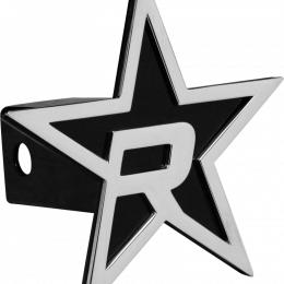 RBP Black Star Hitch Cover - Chrome 5in. Star (For 2in. Hitch Receivers Only) RBP-7501-RX3