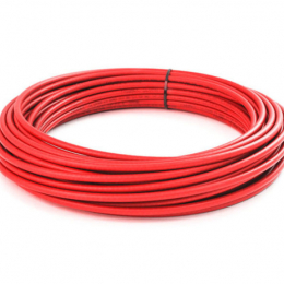 Snow Performance Red High Temp Nylon Tubing - 20ft SNO-8087