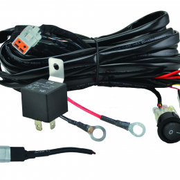 Hella Value Fit Wiring Harness for 1 Lamp 300W 357211001