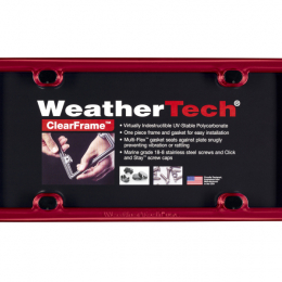 WeatherTech ClearFrame - Red 8ALPCF1