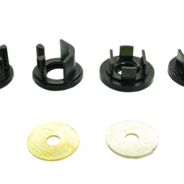 Whiteline 08+ Subaru WRX Hatch / 08-09 Subaru STi Rear Diff Mount Inserts positive power kit KDT903