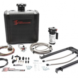 Snow Performance Chevy/GMC Stg 2 Boost Cooler Water Injection Kit (SS Braided Line 4AN Fittings) SNO-430-BRD