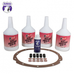 Yukon Gear Redline Synthetic Oil w/ Additive / Gasket and Nuts / For 8.75in Chrysler OK C8.75-A