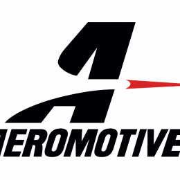 Aeromotive Banner - 32in x 92in (Black/Red) 95012