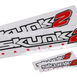 Skunk2 Decal Packet (Windshield Visor and 2 Side Decals) 837-99-1460