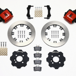 Wilwood Combination Parking Brake Rear Kit 11.75in Red Mini Cooper 140-10885-R
