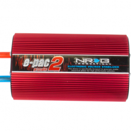 NRG Voltage Stabilizer E-PAC2 - Red EPAC-200RD