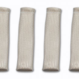 Vibrant 3/4in Dia Spark Plug Boot Insulator (4/Pack) Natural color 25890