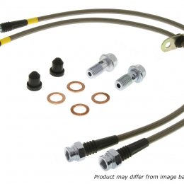 StopTech 03-07 350Z/G35 Stainless Steel BBK Front Brake Lines 950.42015